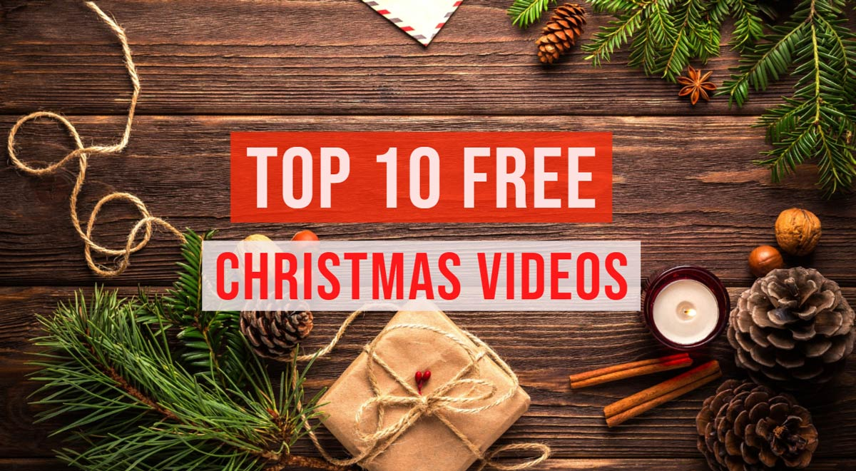 Best Free Christmas Footage For Holiday Videos Tunepocket