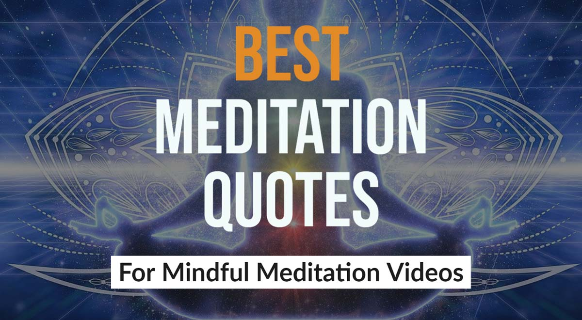 Best Meditation Quotes