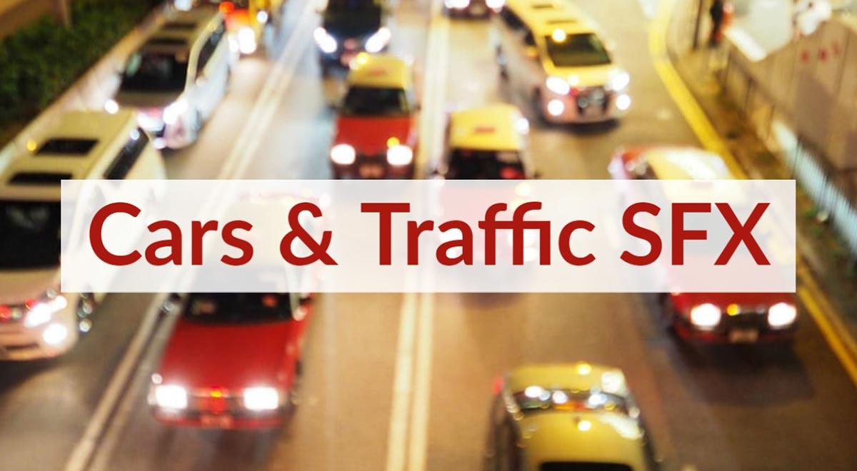 Car Traffic Royalty Free Sound Effects