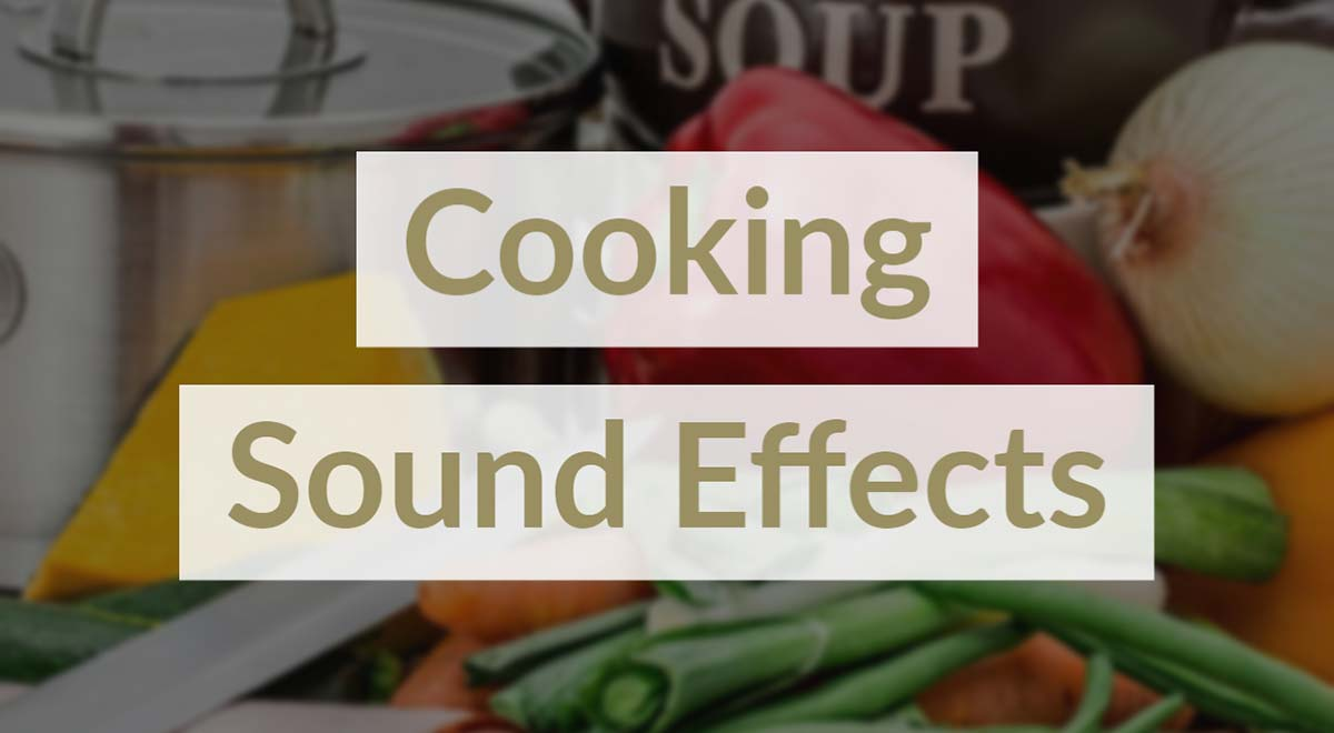 Cooking Sound Effects Royalty Free