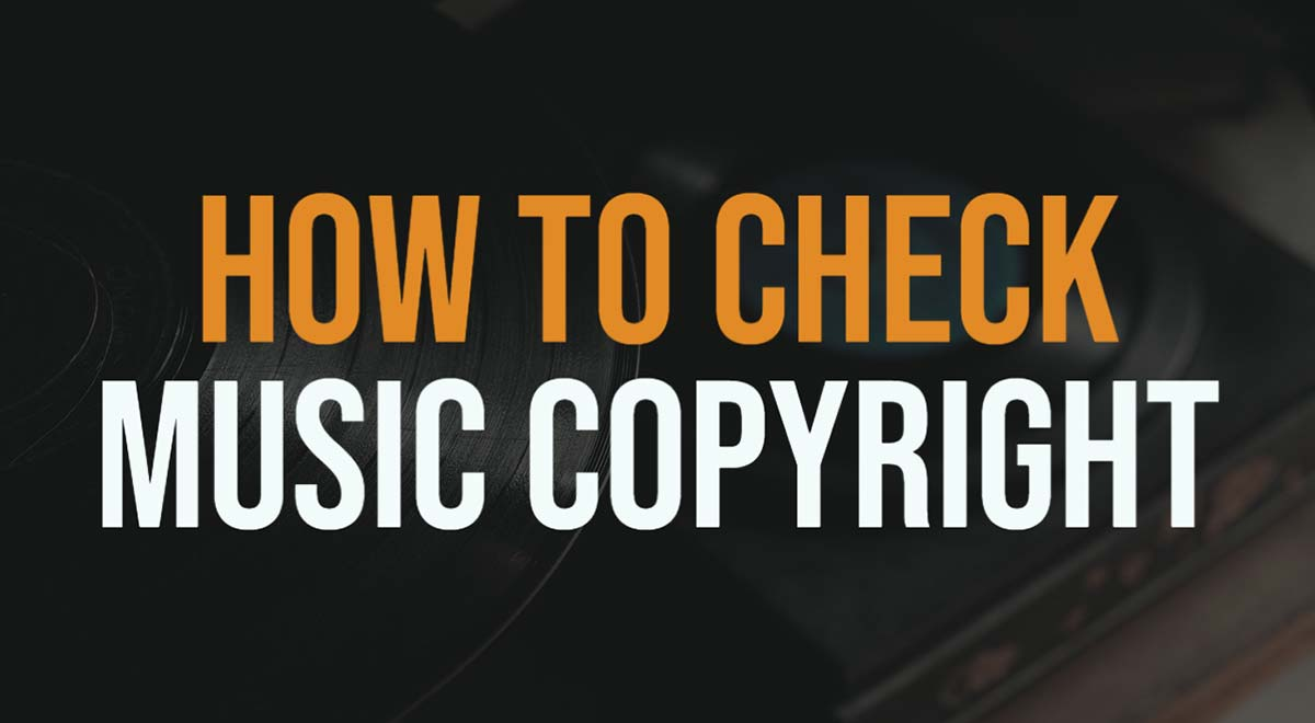 How to check if song is copyrighted