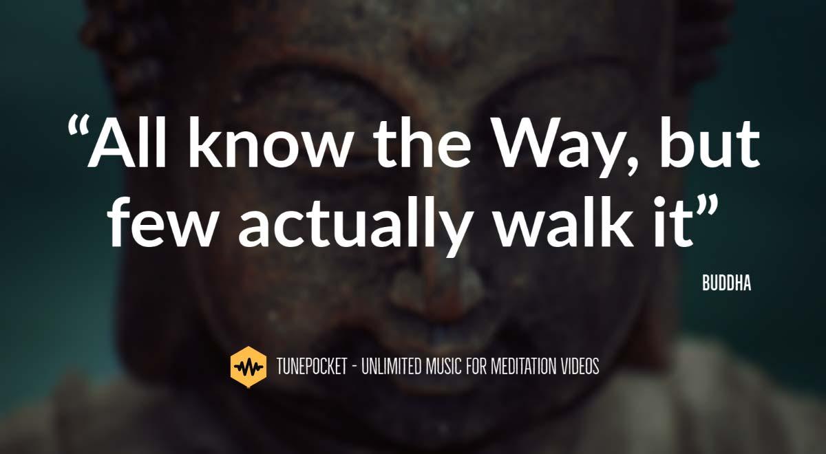 Meditation quotes by budha