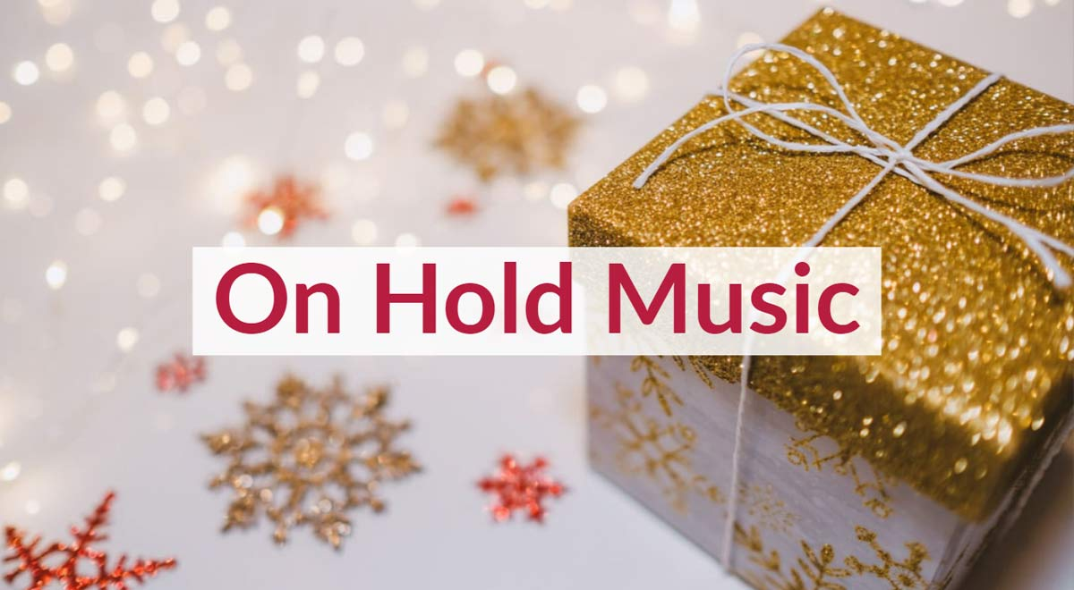Royalty Free Christms Hold Music