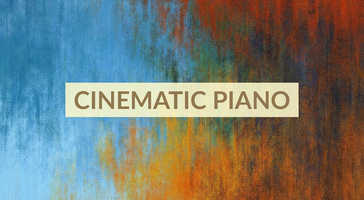 Royalty free cinematic piano music