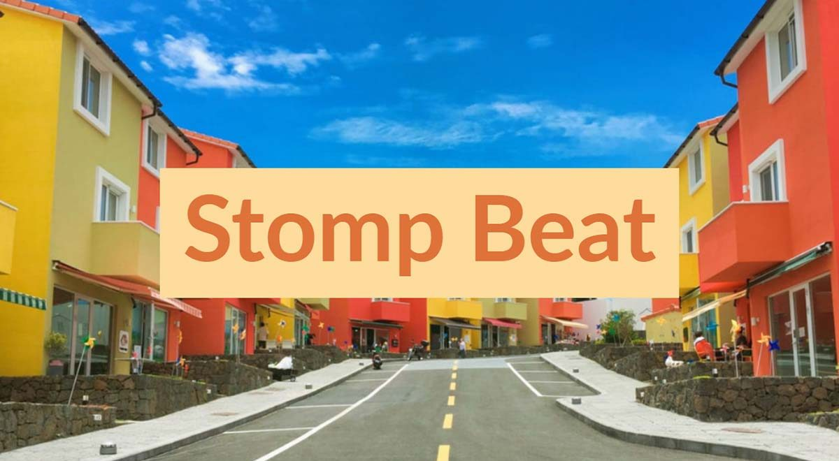 Royalty free clap stomp beat music