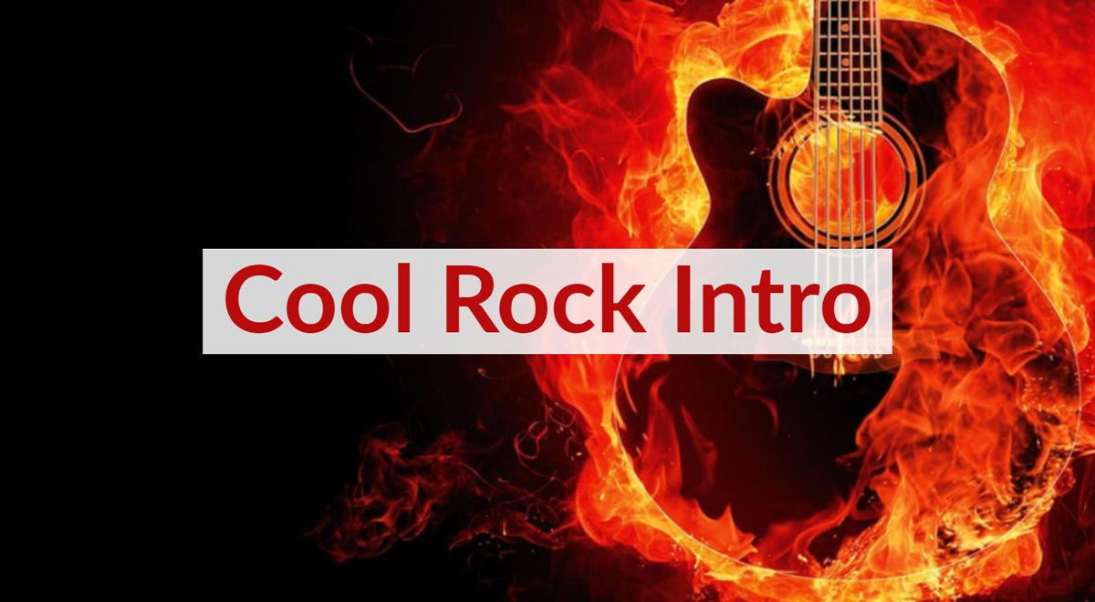 Royalty Free Cool Rock Intro Music