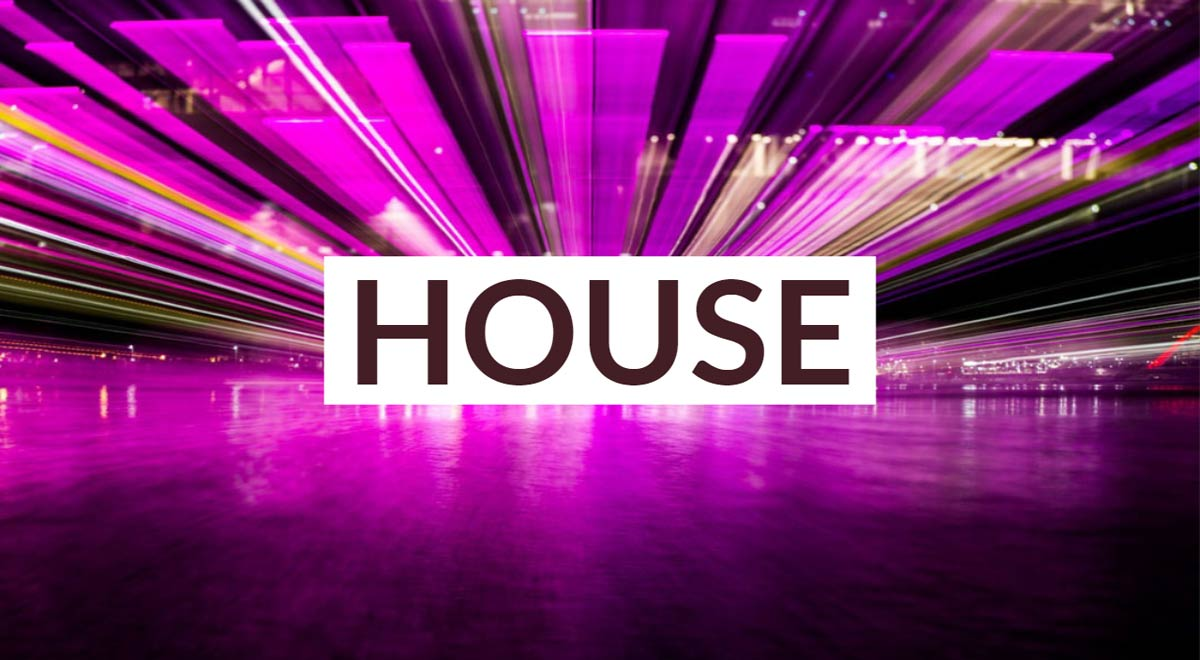 Royalty free house music for video