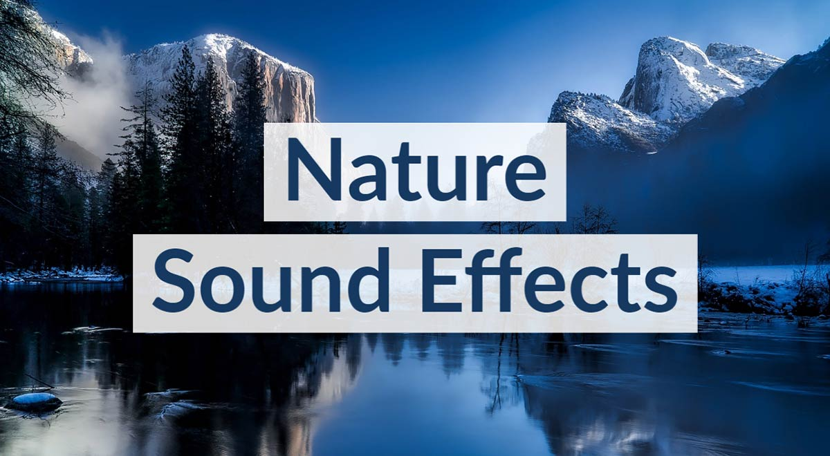 Royalty Free Nature Sound Effects