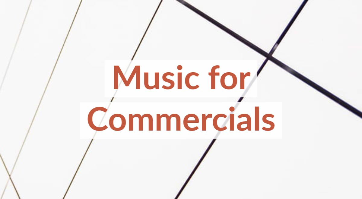 Royalty Free Stock Music For Commercials
