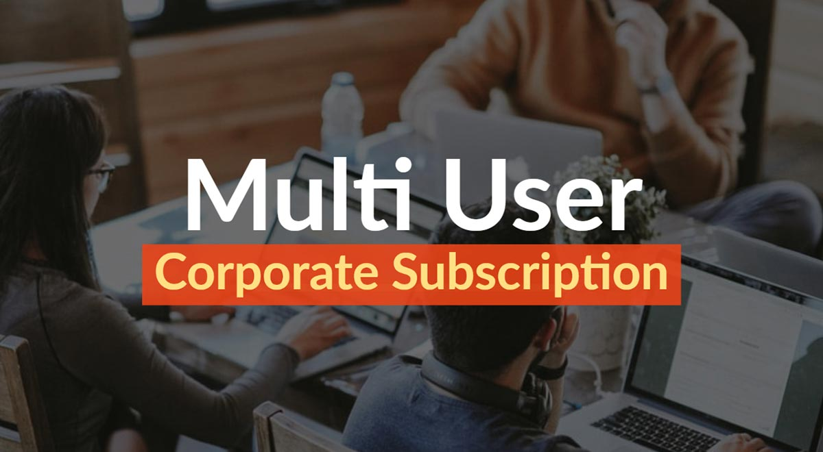 Royalty free music corporate multi user subscription plan