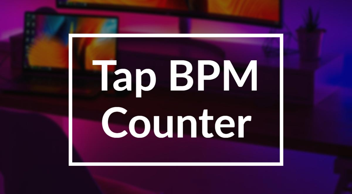Tap BPM Tempo Beat Counter