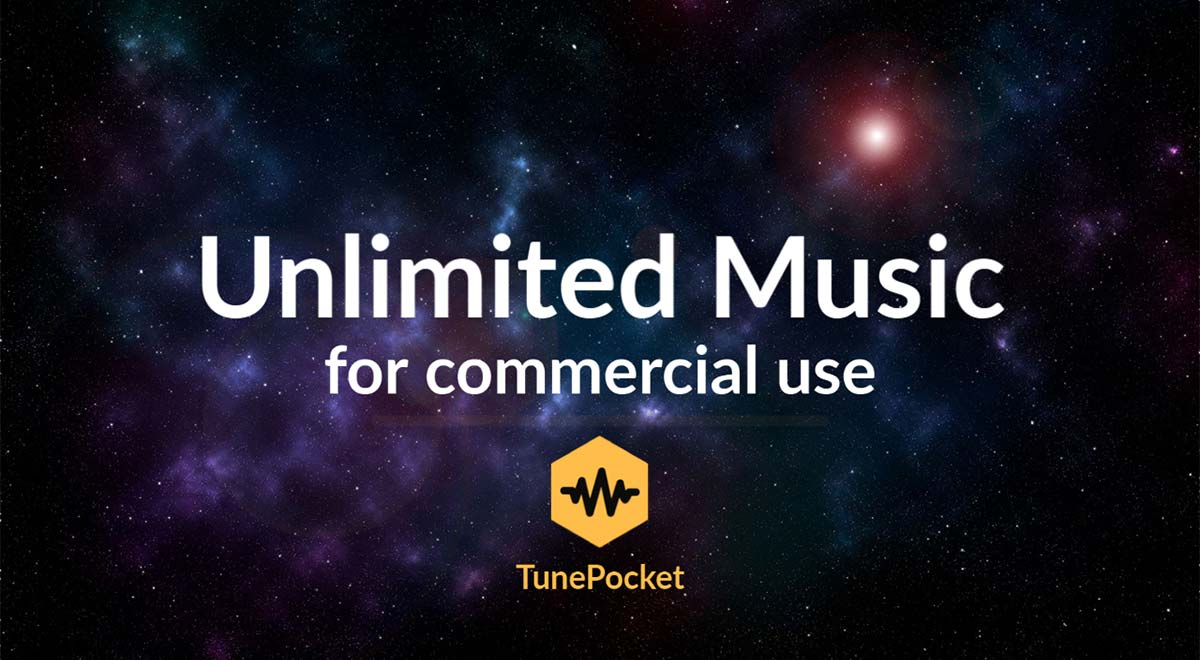 Unlimited royalty free music for commercial use