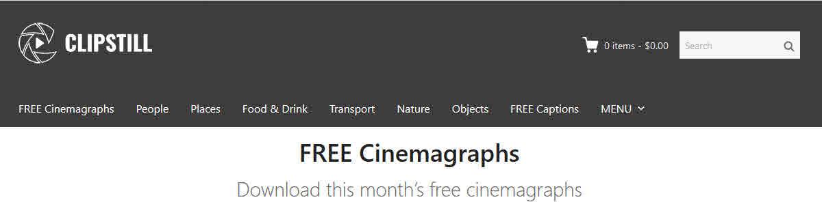 clipstill free cinemagrams