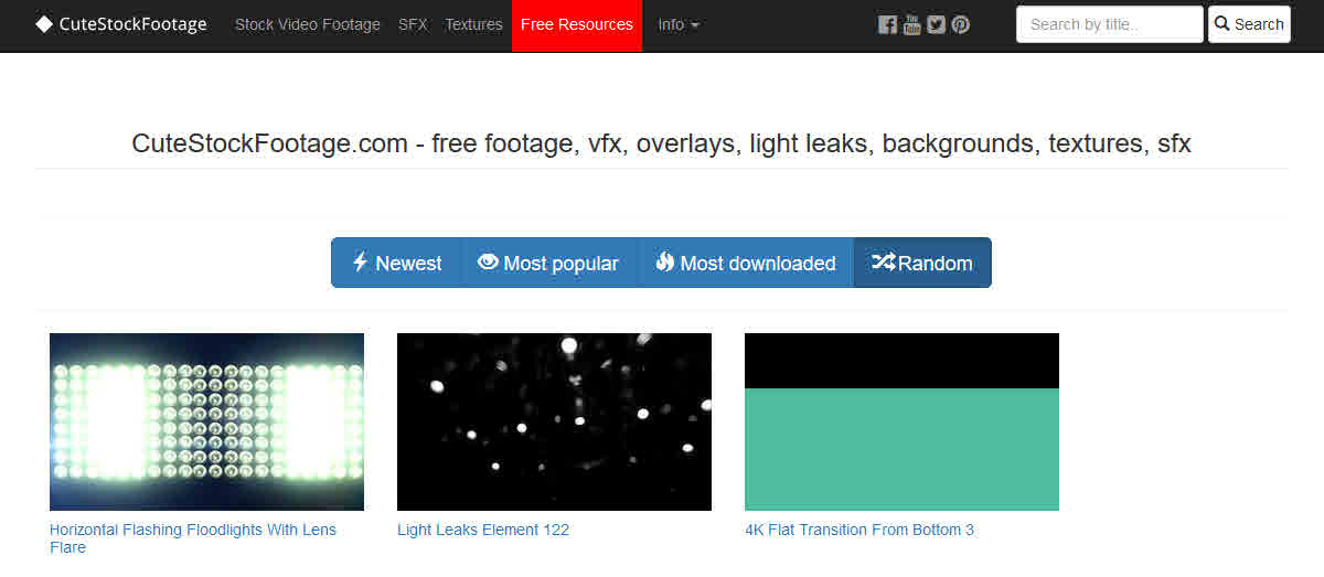 35 Free Stock Footage Sites For Video Editors - TunePocket