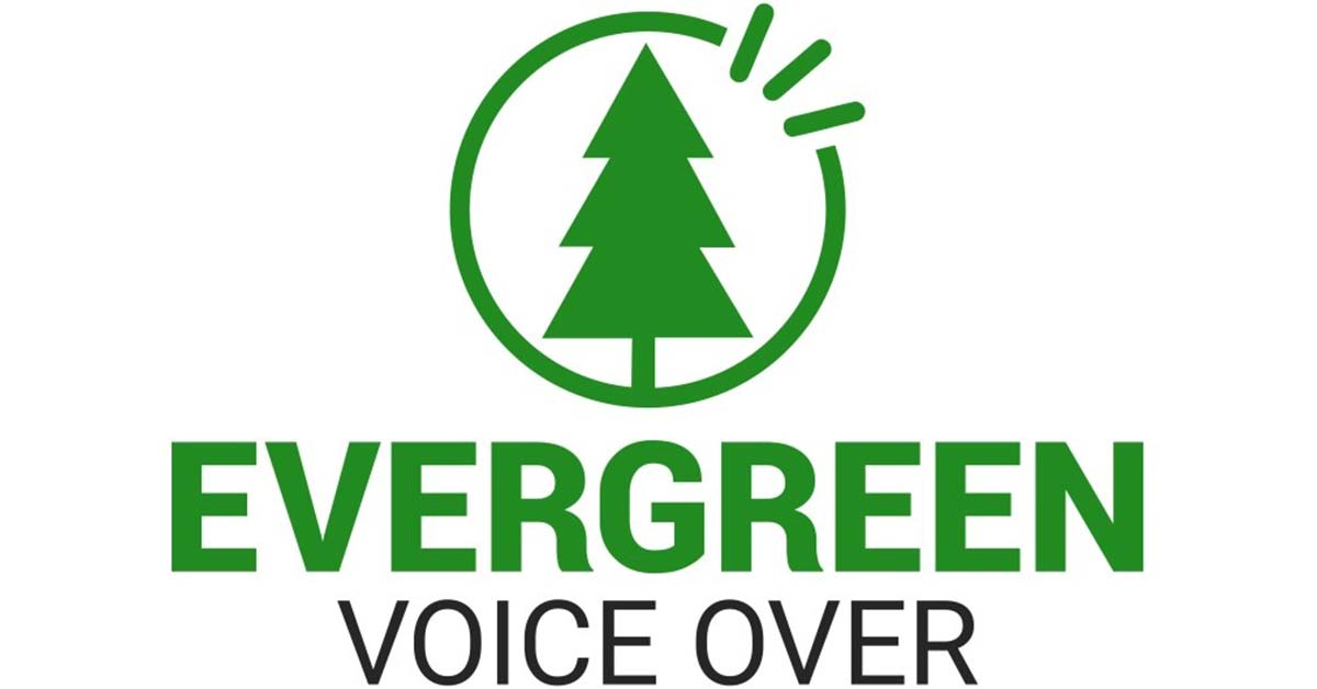 evergreen voiceover logo