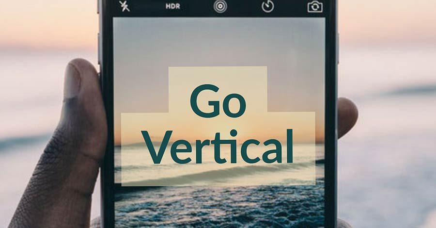 go vertical facebook video filmora