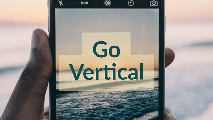 go vertical facebook video filmora