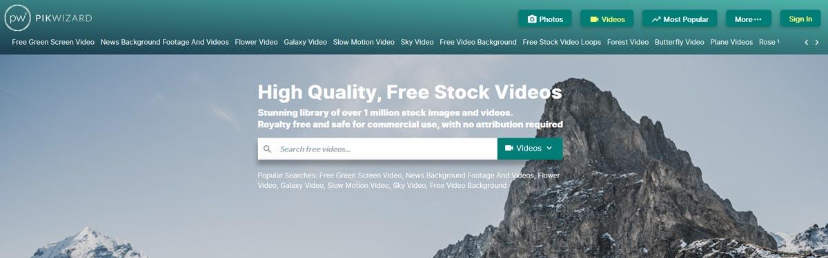 pikwizard free stock footage videos