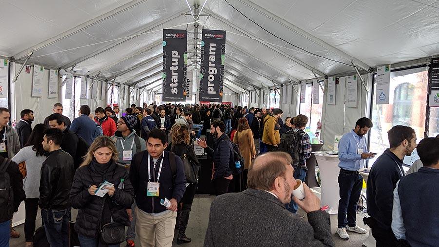 startup grind exhibition tent