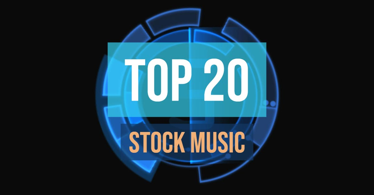 top 20 stock music