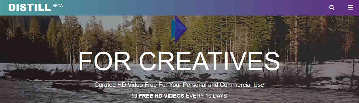 we distill free video
